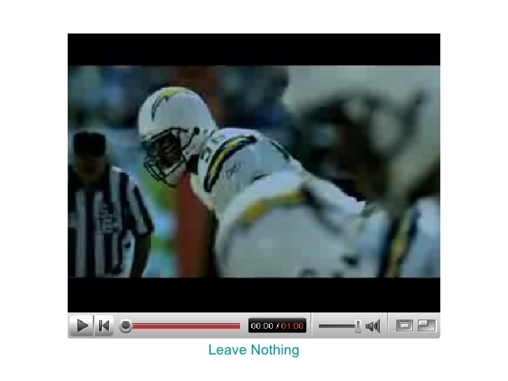 Leave Nothing