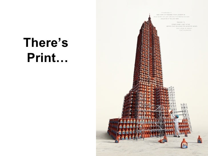 There's  Print…
