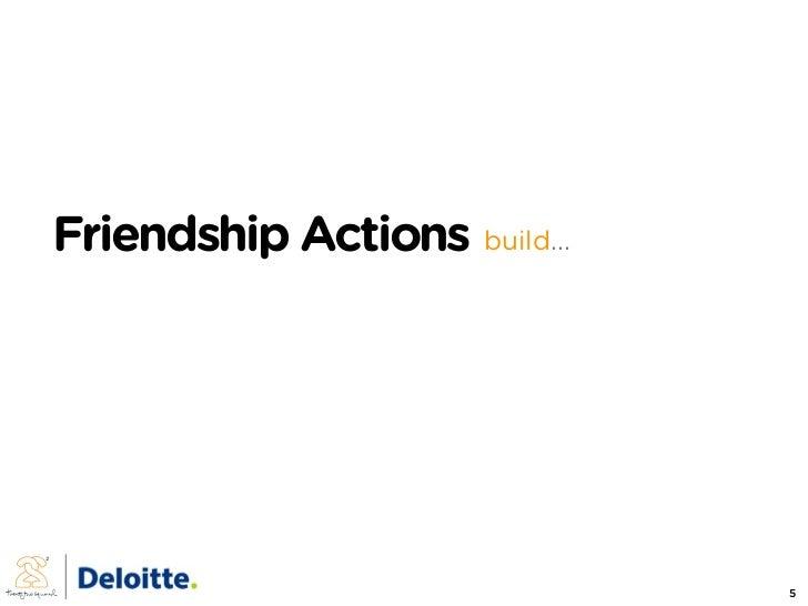 Friendship Actions build...                                   5