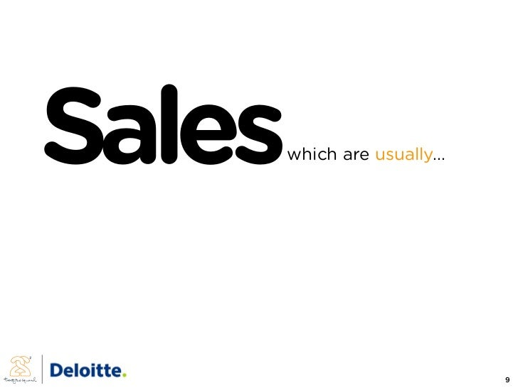 Sales   which are usually...                                    9
