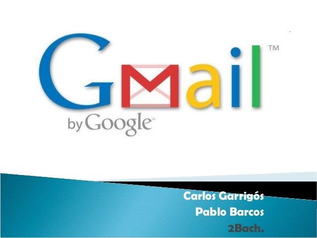 Carlos Garrigós Pablo Barcos 2Bach.