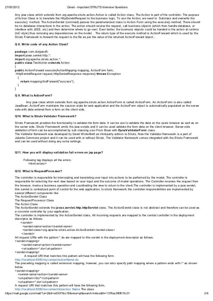 Strut FAQ - WikiNASIOC