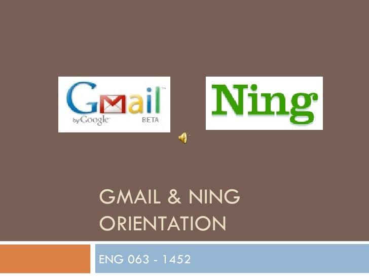 GMAIL & NING ORIENTATION ENG 063 - 1452