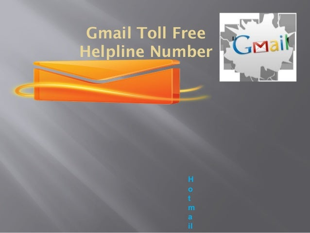 Is Gmail Phone Number free of cost? Dial first 1-888-450-6727 Slide 2