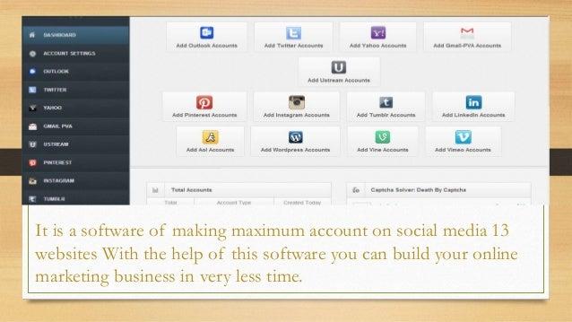 Gmail account creator download