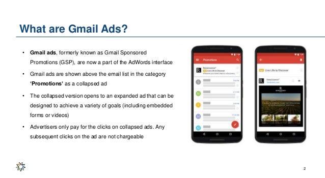 Gmail ads learning deck