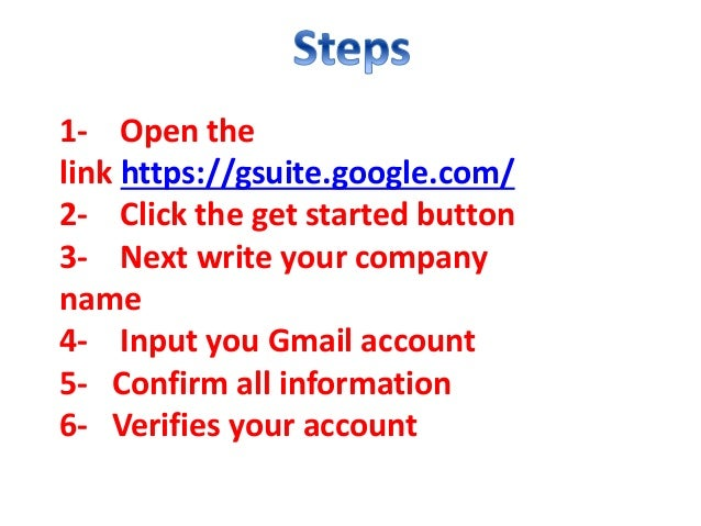 how to create a business google email account