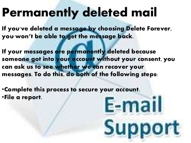 how to get back deleted gmail account