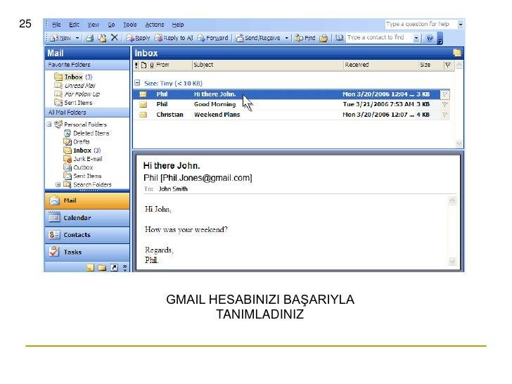 Gmail in english