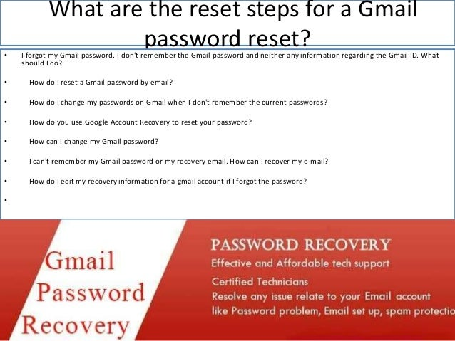 google account recovery password change