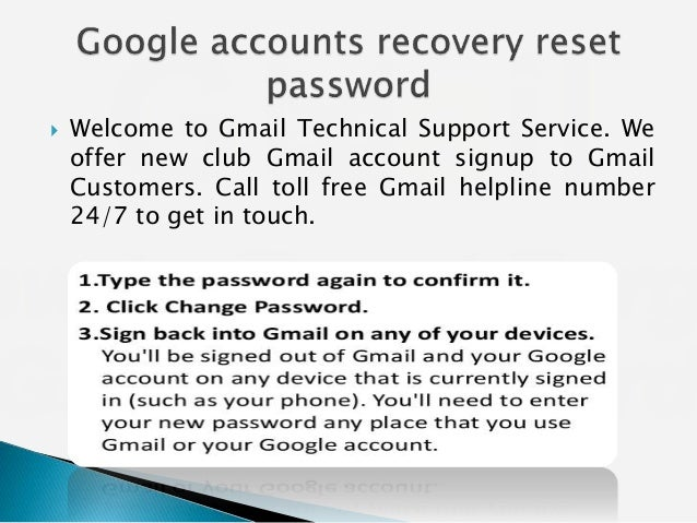 How to Recover the Forgotten Gmail Password