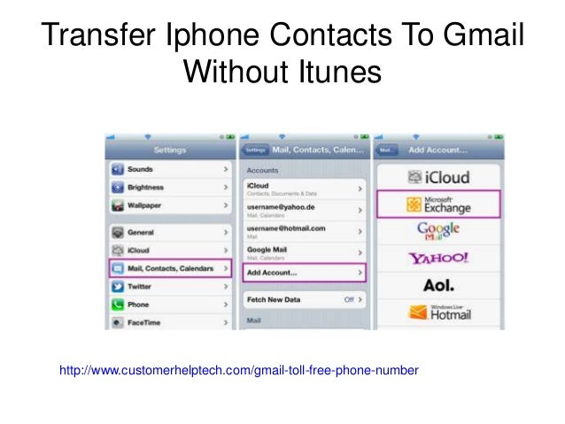 transfer gmail contacts to iphone how to backup iphone contacts to gmail contact gmail 5663