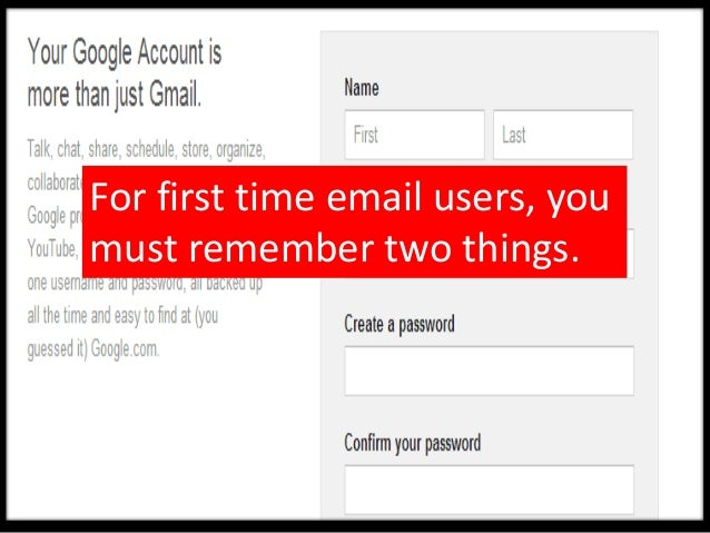 You need both to login intothe new Gmail account.