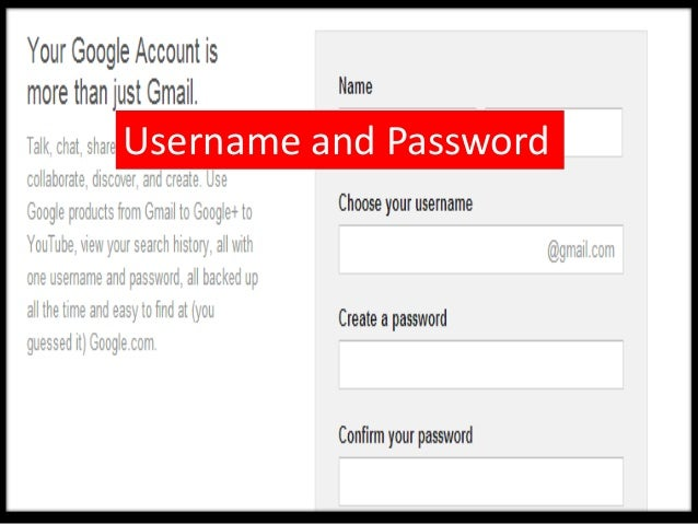 Remember to keep a record ofyour Username and Password.