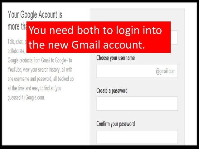 Create your unique username.