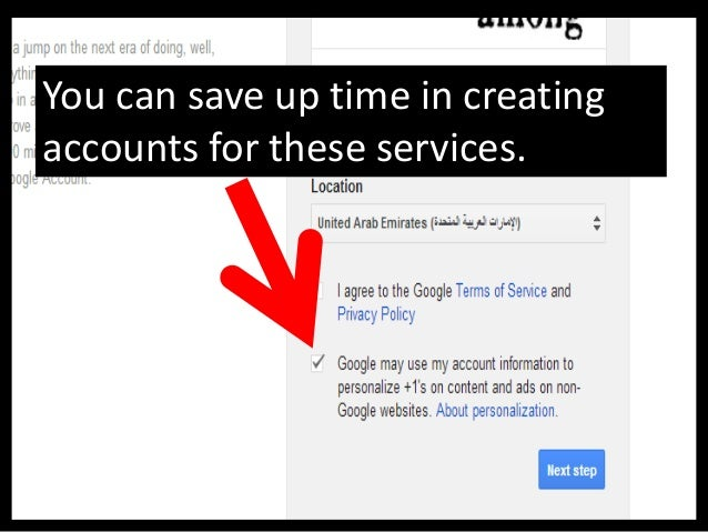 This is Gmail welcome page,your account is now created.
