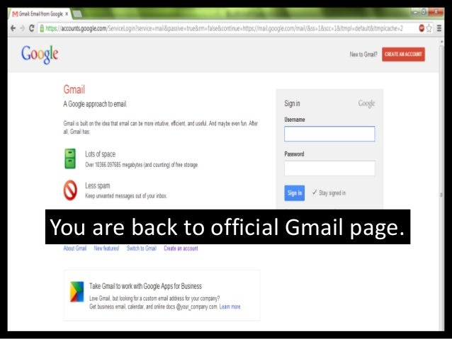 Creating a Gmail Account Tutorial
