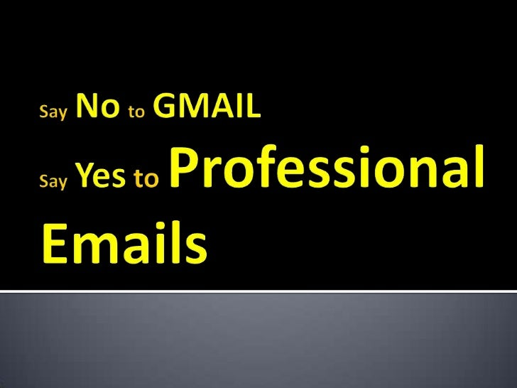 Are you still using a Free Account(Gmail/Yahoo/Hotmail) to run yourbusiness?         Net4 India Limited          2