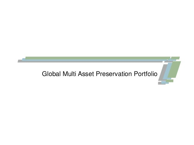 Global Multi Asset Preservation Portfolio