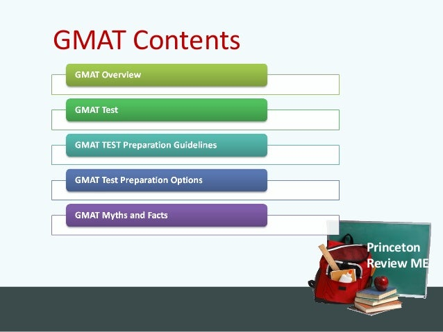 Our strategy sessions are packed with information about the GMAT and the role it plays in college admissions. An expert GMAT instructor will cover the content of the test, walk you through sample questions and share some examples of our proven test-taking .