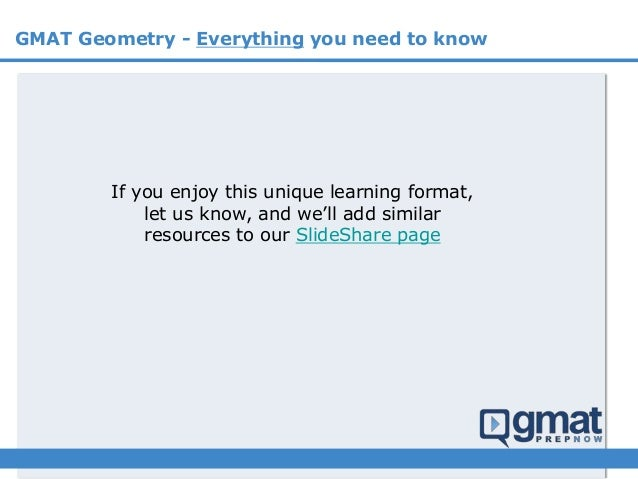 GMAT Geometry - everything you need to know  Slide 3