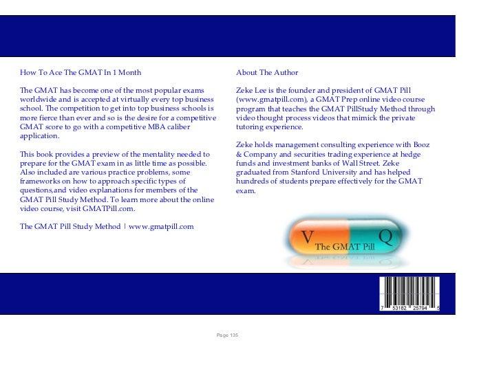 GMAT Prep Ebook from GMATPill