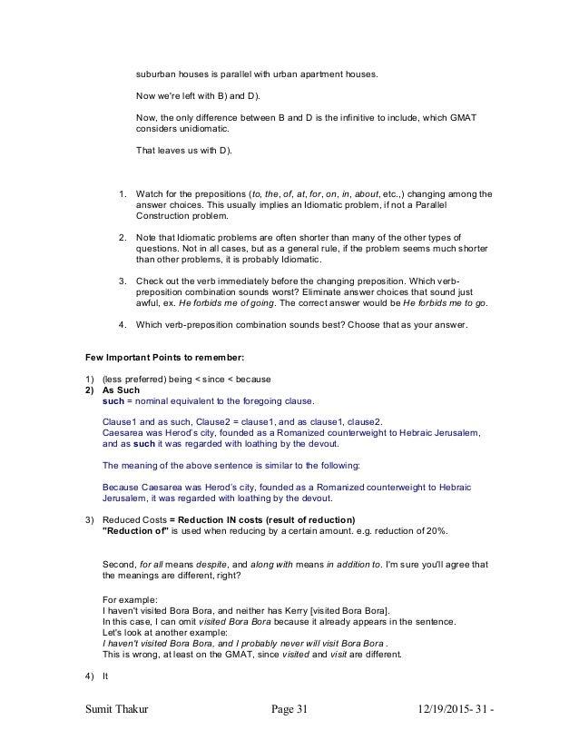 gmat notes Le graduate management admission test (gmat) est un test standardisé en  langue anglaise  le rapport inclut toutes les notes des tests effectués ces cinq  dernières années analytical writing assessment (awa) : évaluation sur un sujet .