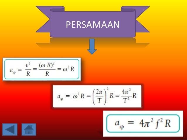 GAYA SENTRIETAL besaran vektor berarti memiliki nilai dan arah. Arah gaya sentripetal selalu menuju pusat dan selalu tegak...