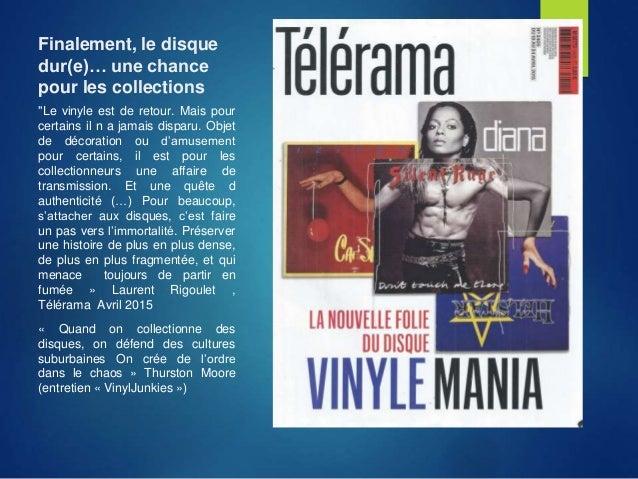 """Finalement, le disque dur(e)… une chance pour les collections """"Le vinyle est de retour. Mais pour certains il n a jamais d..."""