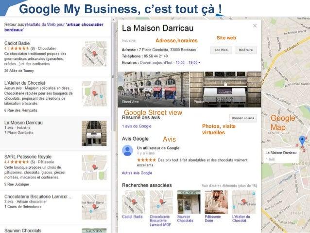 cr er et g rer sa page google my business. Black Bedroom Furniture Sets. Home Design Ideas