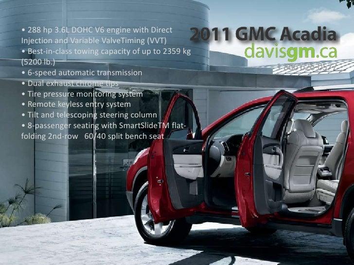 2011 gmc acadia in alberta davis gmc buick. Black Bedroom Furniture Sets. Home Design Ideas