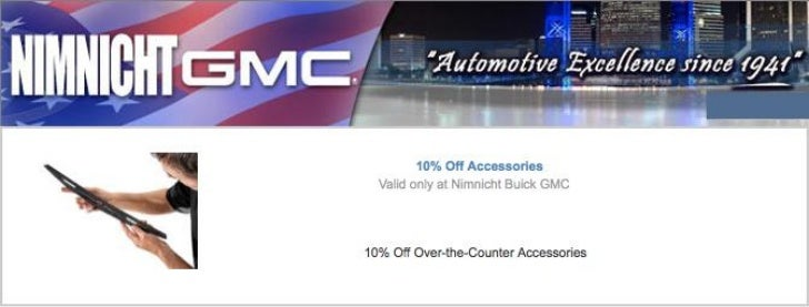 GMC Accesories Special FL | GMC Parts Center in Jacksonville