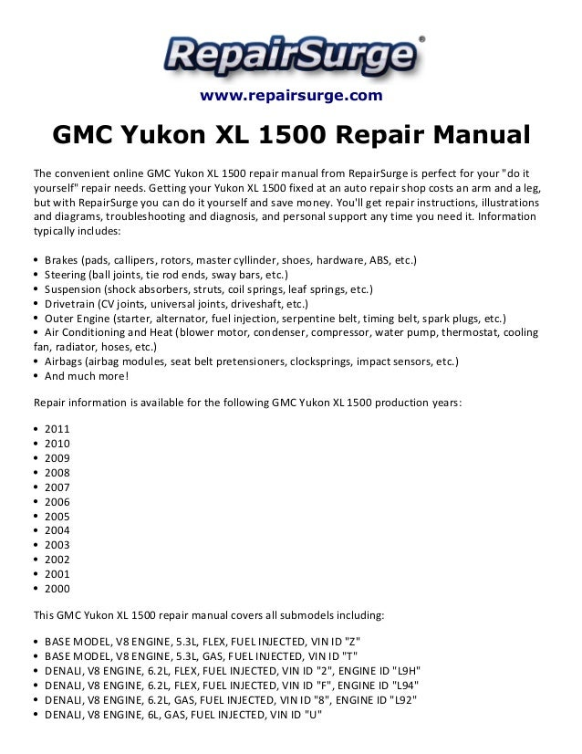 Gmc_sierra_service_repair_manual_1994-2004 by lisa fu issuu.