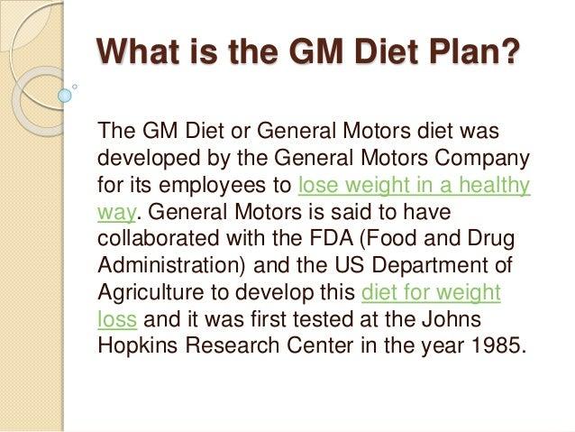GM Diet Plan-Fastest Vegetarian Diet to Lose Weight in 7 Days