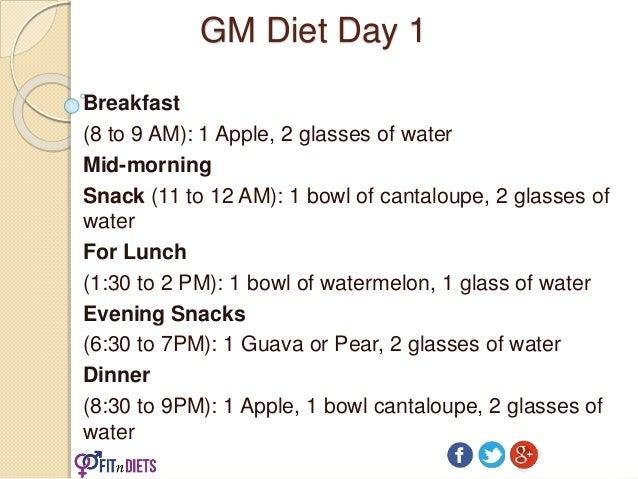 G M Diet Chart Ibovnathandedecker