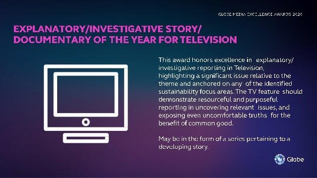 Globe Media Excellence Awards (GMEA) 2020 briefing for VisMin Media