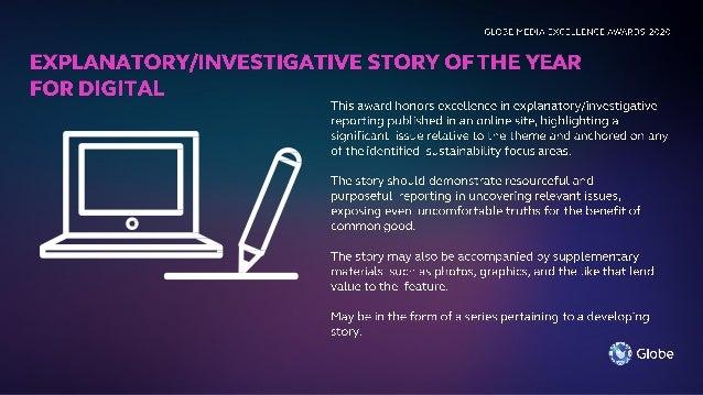 DIGITAL 2 PANELS OF JUDGES PANEL 1 (3 JUDGES) PANEL 2 (3 JUDGES) Explanatory/Investigative Story of the Year for Digital E...