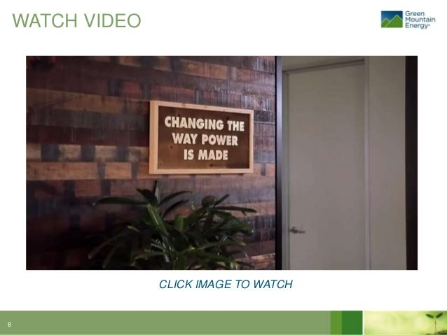 Green Mountain Energy Brand Video Case Study