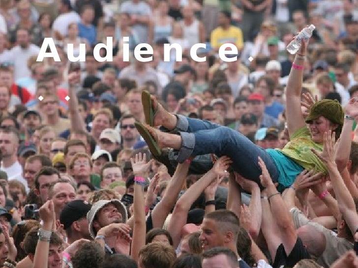 Audience. . .
