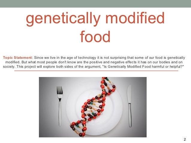 genetically modified food 5 essay