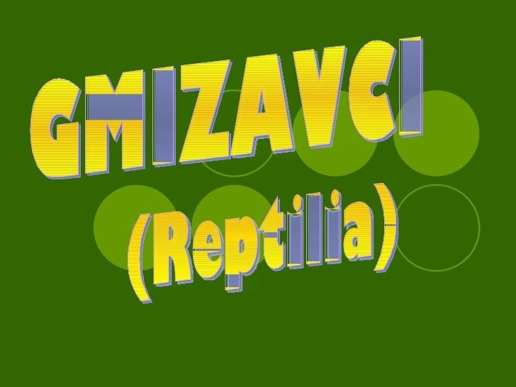 GMIZAVCI (Reptilia)