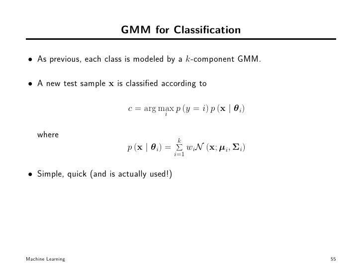 K-means, EM and Mixture models