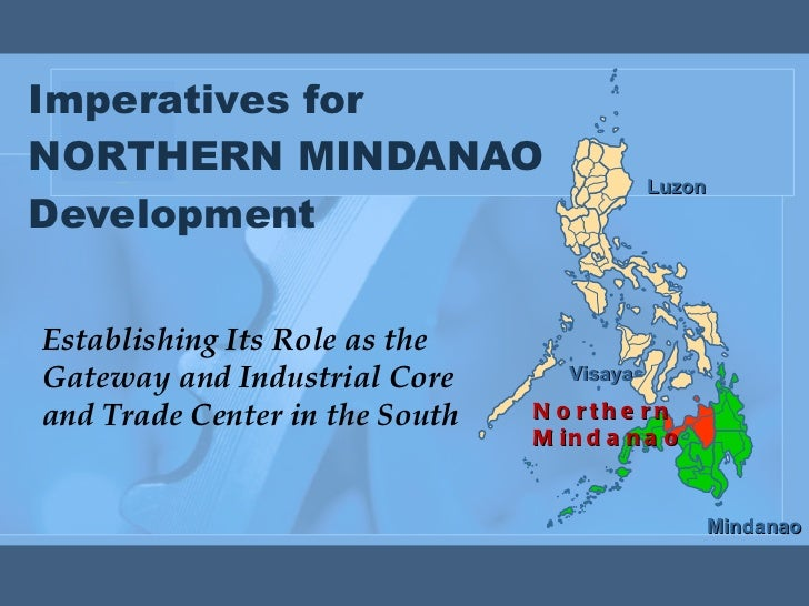 Economic Directions of Northern Mindanao for 2011