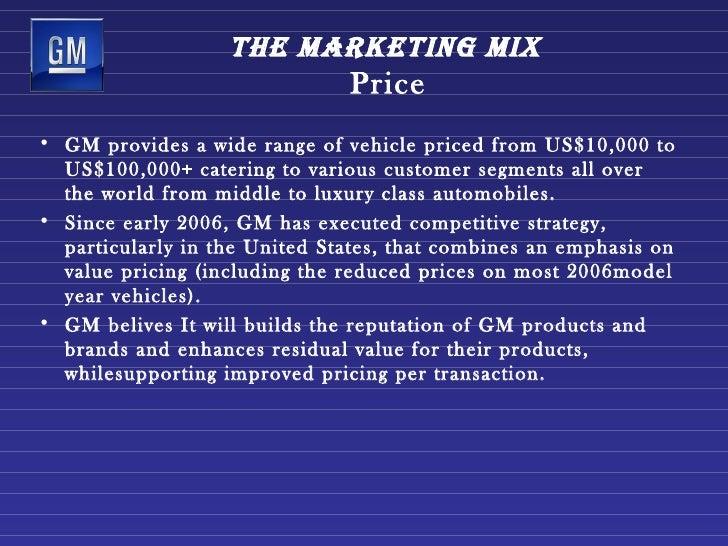 Gm Employee Discount >> Gm Marketing Strategy1[1]