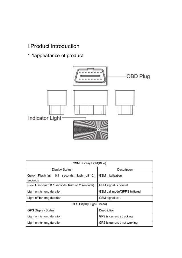 GPS Tracker Mini Auto OBD Car GSM Vehicle Tracking Device ... on