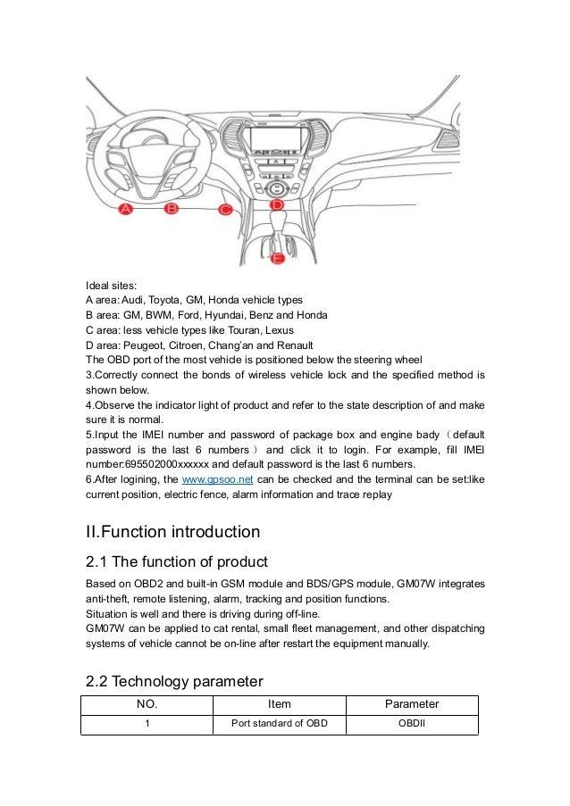 Gps Tracker Mini Auto Obd Car Gsm Vehicle Tracking Device