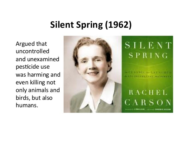 a summary of rachel carsons silent spring Free download or read online silent spring pdf (epub) book the first edition of this novel was published in september 27th 1962, and was written by rachel carson.