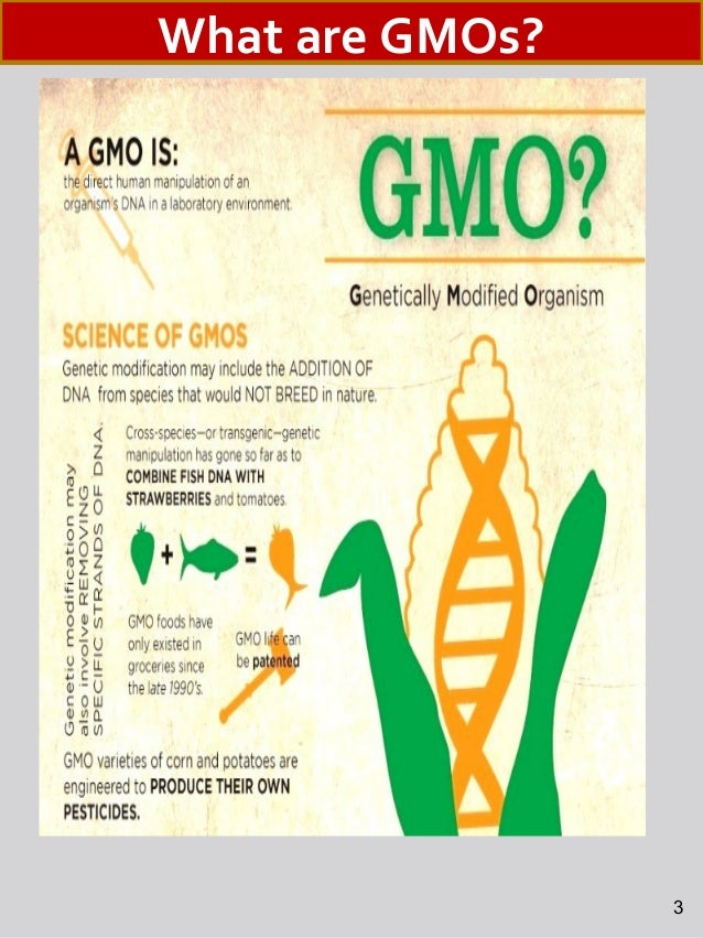 Genetically Modified Organisms (GMOs) and Organic Foods