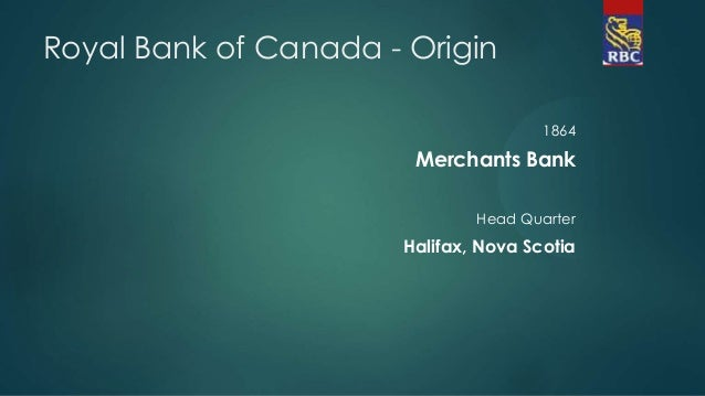 royal bank of canada case study Bank mergers 39 appendix a: list of schedule i and schedule ii chartered banks schedule i bank of montreal canadian imperial bank of commerce canadian western bank.
