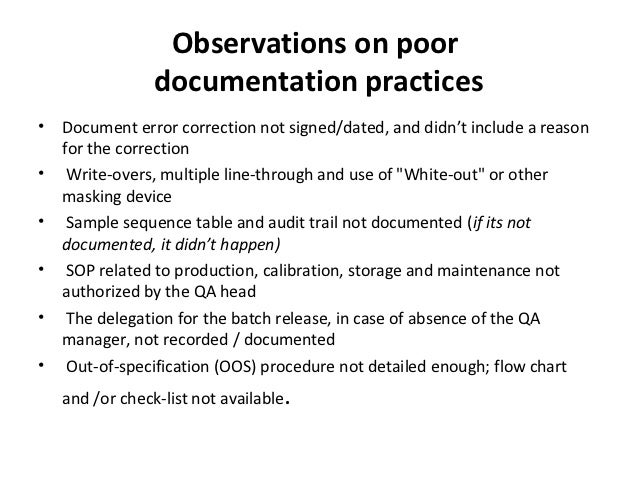 Good Documentation Pactise dr. amsavel